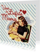 Vintage Liefste Mama