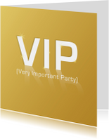 Uitnodigingen - VIP Very Important Party