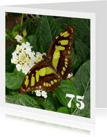Vlinder met bloemetjes
