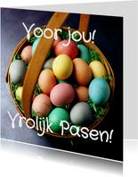 Voor jou! Vrolijk Pasen! - BK