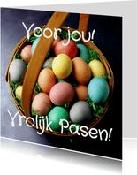 Voor jou! Vrolijk Pasen!