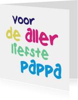 Vaderdag kaarten - voor pappa
