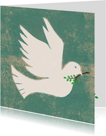vredes duif vierkant