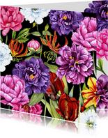 Vriendschap botanische bloemen