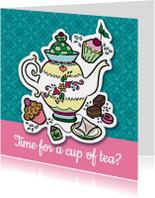 Vriendschap - cup of tea?