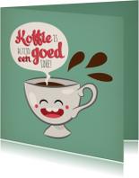 Vriendschap koffie kopje