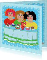 Vriendschap kaarten - Vriendschapskaart Koffietje