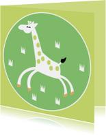 Vrolijke giraffe