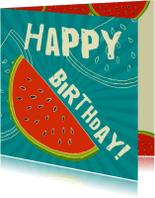 Watermeloen verjaardag