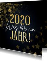 Weihnachtskarte 2020 - Was für ein Jahr