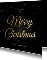 Weihnachtskarte klassisch 'Merry Christmas'