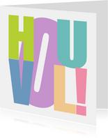 Woorden Hou Vol! Kleurrijk