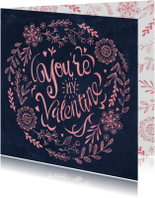 You're my Valentine Schoolbord