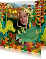 YVON dinosaurus foto jongenskaart