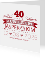 YVON jubileum 40 tekst retro