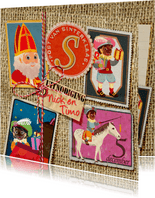 YVON sinterklaas hip cool zegels
