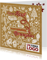 YVON stempels kerst logo