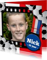 YVON voetbal eigen foto medaille