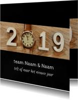 Zakelijke kerst horloge aftellen 2019 - 2020