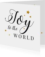 Zakelijke kerstkaart Joy