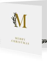 Zakelijke kerstkaart M