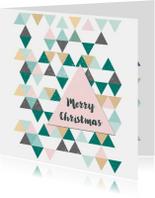 Zakelijke Kerstkaart Scandinavisch patroon