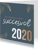 Zakelijke kerstkaart 'Succesvol 2020'