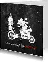 Zakelijke kerstkaart transport verhuizen en bezorgen