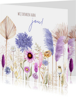 Zomaar bloemenveld
