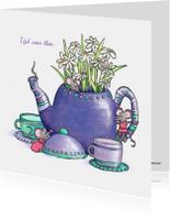 Zomaar een kopje thee drinken