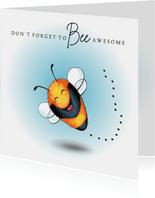 Zomaar kaart Bee awesome