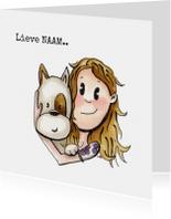 Zomaar kaarten - zomaar kaarten Kaat&Odey Lieve..