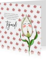 Zomaar kaarten Tulp knuffel tegoed