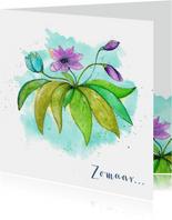Zomaar wilde bloemen voor jou