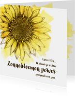 Zonnebloem-kracht voor jou
