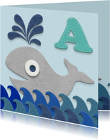 Zwemdiploma walvis A