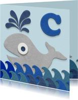 Zwemdiploma walvis C