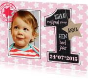 1 jaar meisje sterren