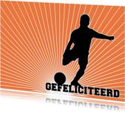 15262 Voetballer gefeliciteerd