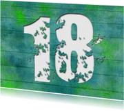 15299 Uitnodiging 18 jaar