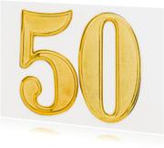 50 jaar getrouwd - gouden bruiloft