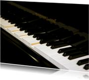 Ansichtkaart Piano 2