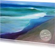 Ansichtkaart zee groetjes