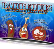 barbecue sausje erbij