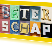 Beterschap in letters