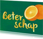 Beterschap met sinaasappels