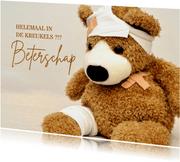 Beterschap teddybeer