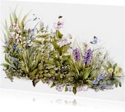 bloemen en kruiden ansichtkaart