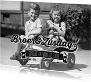 Broer en zus retro-isf