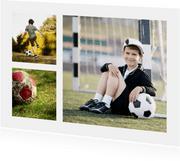 Collagekarte drei Fotos